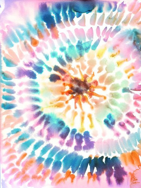 Watercolor Tie Dye Tie Dye Wallpaper Free Spirit Art Pretty Wallpaper Iphone