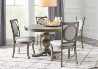 Emory Heights Gray 5 Pc Round Dining Room Nbsp 599 99 Find