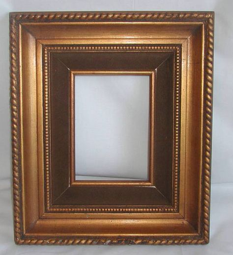Old Solid Wood Frame 12x14 Inch Gold Wide Ornate Taupe Velvet For 5x7 Canvas Painting Wood Frame Solid Wood