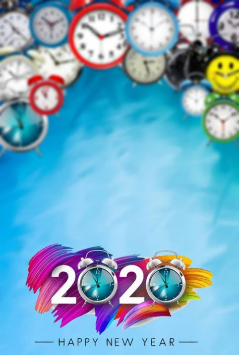 Happy New Year PicsArt Background 2020 Full HD (1)