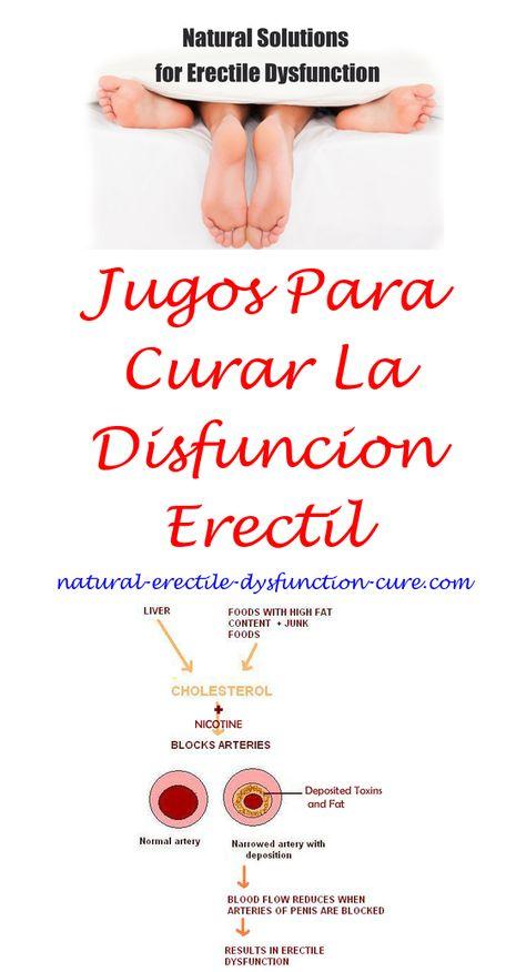 remedios naturales para problemas de erección psicológica