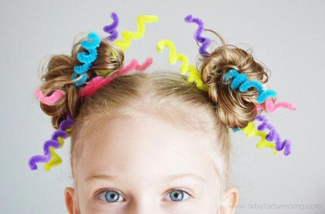 Crazy Hair Day with Lalaloopsy Girls Crazy Hair Day with Lalaloops. Crazy Hair Day w Crazy Hair Day Girls, Crazy Hair For Kids, Crazy Hair Day At School, Days For Girls, Crazy Hair Days, Crazy Day, Crazy Girls, Crazy Hair Day For Teachers, Little Girl Hairstyles