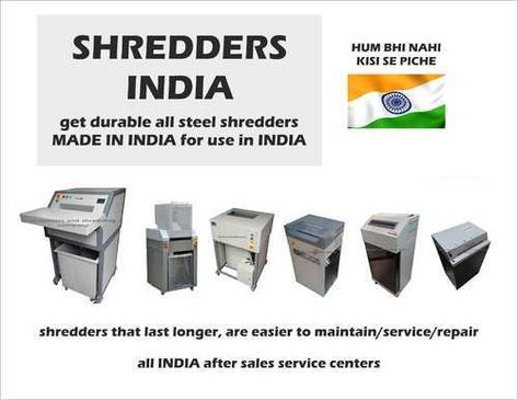 We Are Reputed Manufacturing Company Supplier Dealer Wholesaler In India Manufacture All Types Of Shredd Paper Shredder Shredder Machine Company Paper