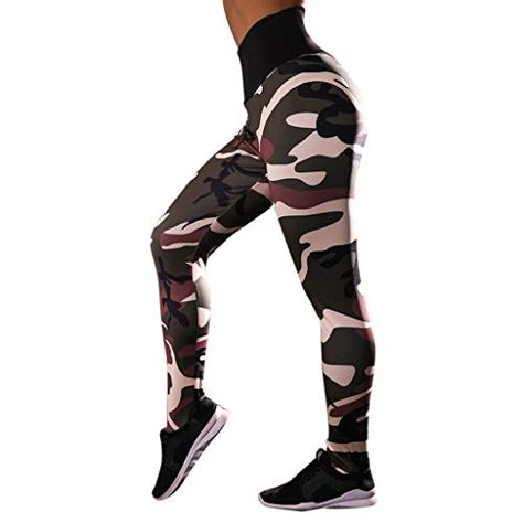 MEIbax Moda Mujer Entrenamiento Leggings Fitness Deportes Gimnasio Running Yoga Athletic Pants