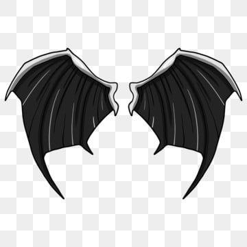 Cartoon Illustration Winged Devils Wing Hand Drawn Wings Illustration Good Looking Wings Beautiful Wings Cartoon Illustration Black Wings Png Transparent Cli Cartoon Illustration How To Draw Hands Wings