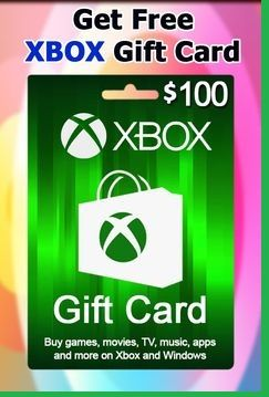 Get Free Xbox 100 Gift Card How To Get Free Xbox Codes 100 Free