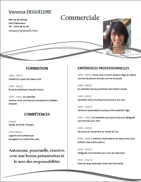 Curriculum Vitae Libreoffice Writer Current Release Cv Design Template Curriculum Vitae Downloadable Resume Template