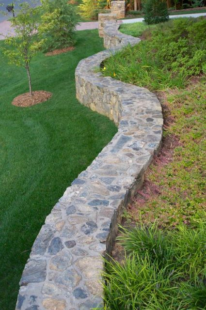 95 Retaining Wall Ideas That Will Blow Your Mind Landscaping Retaining Walls Stone Walls Garden Patio Stones