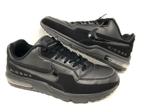 Nike Air Max LTD 3 BlackBlack Men's Running Shoes 687977 020