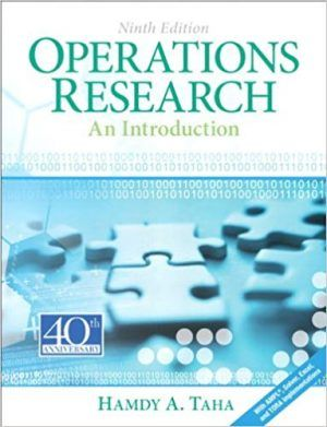 Introduction Operations Research 9th Edition Taha Solutions Manual