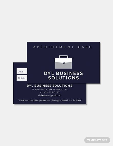 Free Salon Appointment Card Template Appointment Cards Cards Business Card Template Design