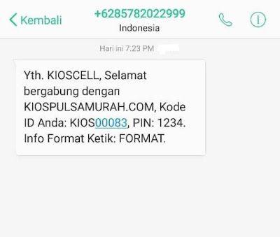 Contoh Reply Pendaftaran Master Dealer Kios Pulsa
