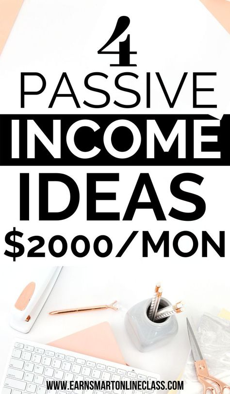17 Passive Income Ideas You Can Start Today