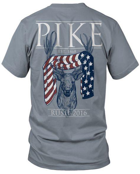 This is great. Pi Kappa Alpha Rush T-shirt.  Fraternity Rush T-shirts
