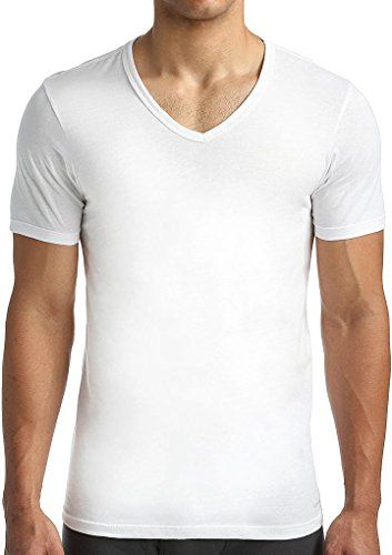 Calvin Klein Mens 3Pack Cotton Classics SlimFit VNeck TShirt * To view further for this item, visit the image link.