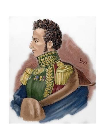 Giclee Print Antonio Jose De Sucre 1795 1830 24x18in Arte