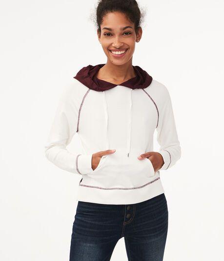 Aeropostale Womens Super Cozy Hoodie Sweatshirt