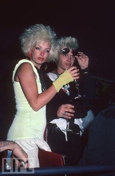 Perri Lister And Then Bf Billy Idol Billy Idol White Wedding Billy Idol Music