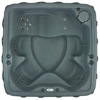 Select 200 5-Person 20-Jet Plug and Play Hot Tub with LED ...