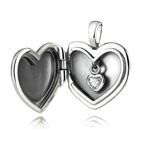 pandora collana cuore nel cuore