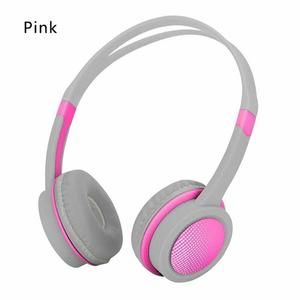 Cute Kids Over Ear Wired Headphones Safely Children Over Ear Headset Adjustable Headband Computer Tablet Kid Ba Headphones Wired Headphones Adjustable Headband