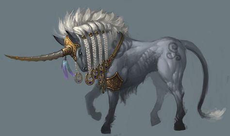 Unicorn mount by ~slipgatecentral on deviantART
