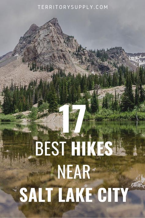 When you're in Salt Lake City and you hear the call of the wild, we've got you covered. Here are 17 of the best SLC hikes to get out and reconnect with nature, featuring all of the must-see crowd favo Salt Lake City Hikes, Salt Lake City Utah, Salt City, Visit Utah, Road Trip, Utah Adventures, Cottonwood Canyon, West Coast Trail, Zion National Park