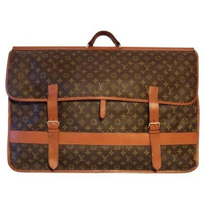 Louis Vuitton Vintage Monogram Canvas Travel Bag Vintage Designer Bags Bags Louis Vuitton