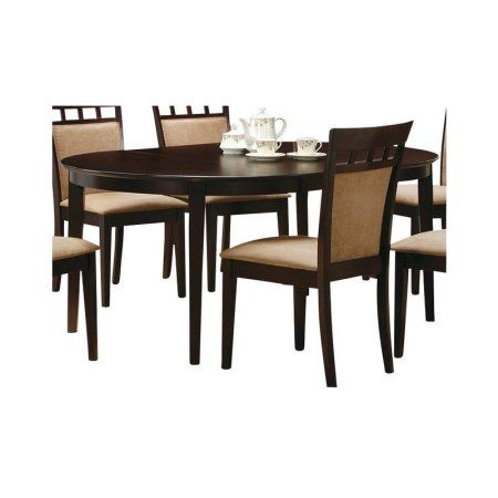 Coaster Company Gabriel Dining Table Cappuccino Chairs Sold Separately Walmart Com Primitive Dining Rooms Dining Table Coaster Furniture