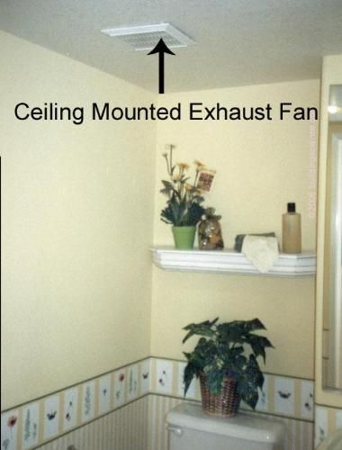 How To Vent An Interior Bathroom In 2020 Small Bathroom Exhaust Fan Bathroom Exhaust Fan Light Bathroom Fan