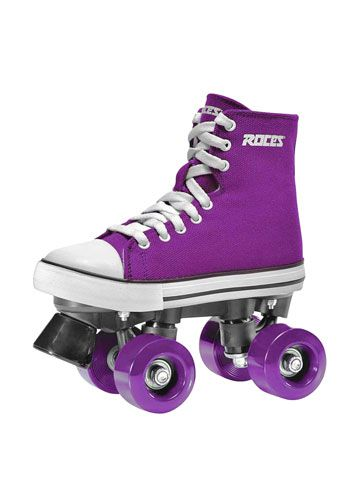 My favorite color + one of my favorite past times = LOVE!!! What I wouldn't do for a pair of skates like this...
