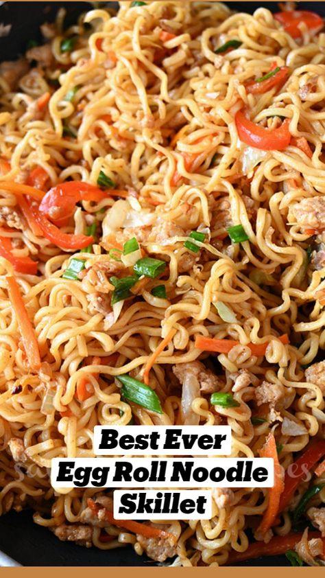 Best EverEgg Roll NoodleSkillet