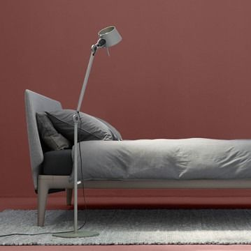 With Its Slender Lines And Slightly Curved Headboard The Auping