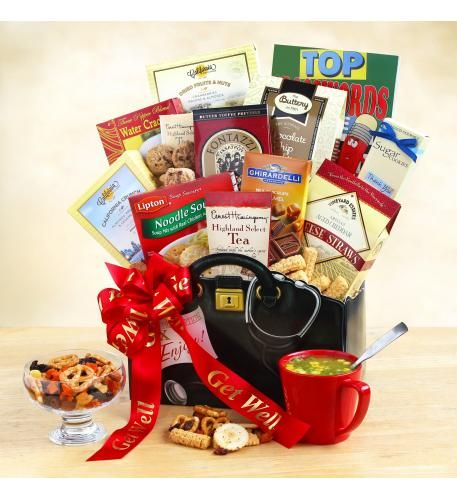 Doctor S Orders Get Well Wishes Gift Basket Get Well Gift Baskets Feel Better Gifts Wellness Gifts