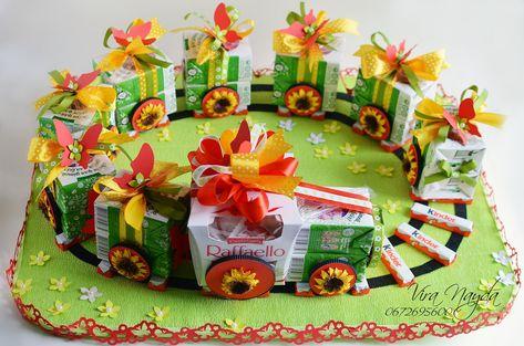 Фотографии Sweety Club /Свит-дизайн, Букеты из конфет