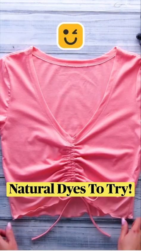 Natural Dyes To Try For Fabric!