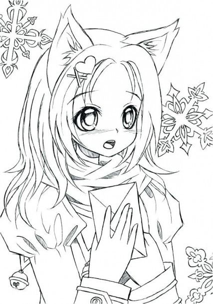 Anime Coloring Pages Printable Coloring Coloringpages Mermaid