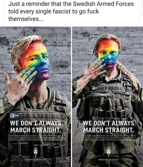 swedish armed forces: lgbt