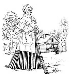 Harriet Tubman Coloring Page | Harriet tubman | Coloring ...