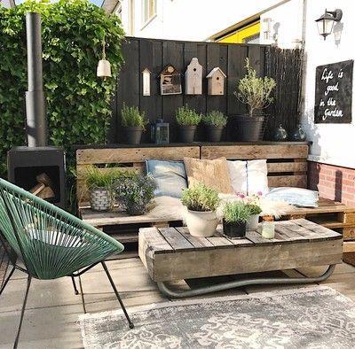 Ideas Para Preparar Tu Terraza Con Palets Terrazas Con