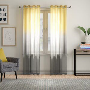 Gaeta Abstract Multi Colored Area Rug In 2020 Yellow Curtains Living Room Yellow Living Room Grey And Yellow Living Room