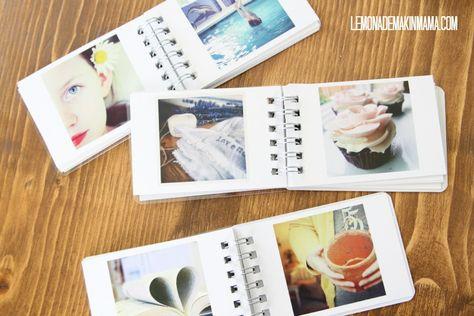 Lemonade Makin' Mama: Memory-Gazing. Printing Instagram photos