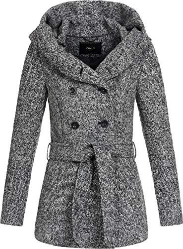 save off 6089e bb211 ONLY-Damen-Kurzer-Wollmantel-Lisa-XL-Kapuze-15156576-medium ...