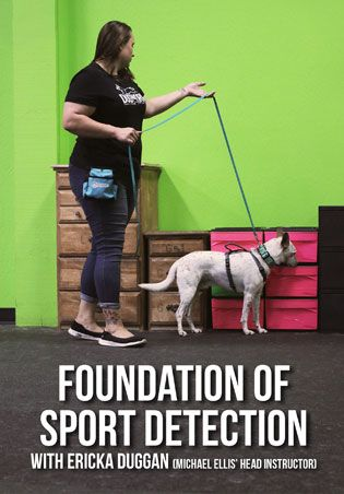 Foundation Of Sport Detection With Ericka Duggan Therapy Dog