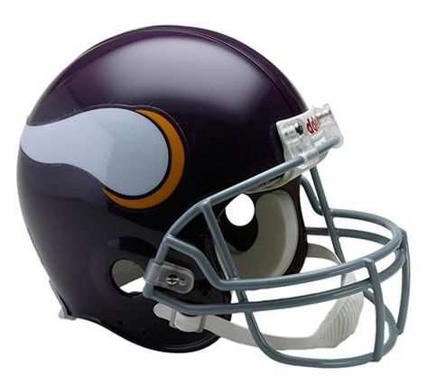 Minnesota Vikings THROWBACK FULL SIZE FOOTBALL HELMET DECALS