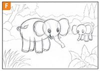 30 Gambar Hewan Dan Pemandangan Yang Mudah Digambar Cara Mudah Menggambar Gajah Cikal Aksara Download Gambar Pemandangan Hewan Sketsa Hewan Sketsa Gambar