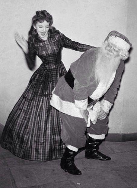 Spank the santa