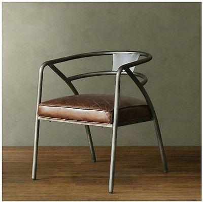 Style Chaise Industriel Au Vintage Métal Retro Luxe Design Usine bgfI7yY6v