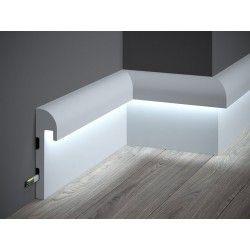 Listwa Przypodlogowa Oswietleniowa Ql015 Mardom Decor Elite Interior Lighting Ceiling Lighting Design Interior Home Lighting Design