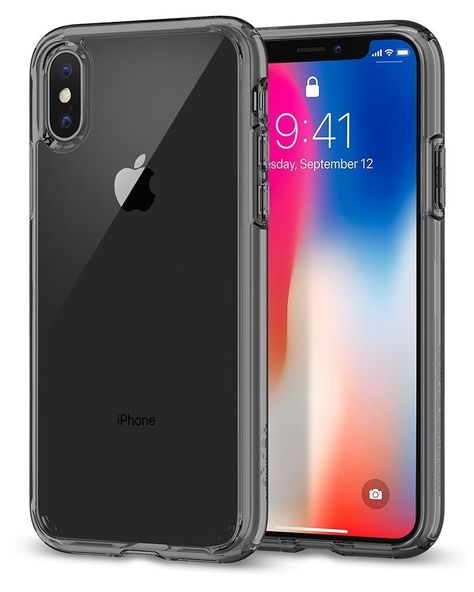 COVER IPHONE 7 Plus 8 Plus Trasparente Spigen Ultra Hybrid
